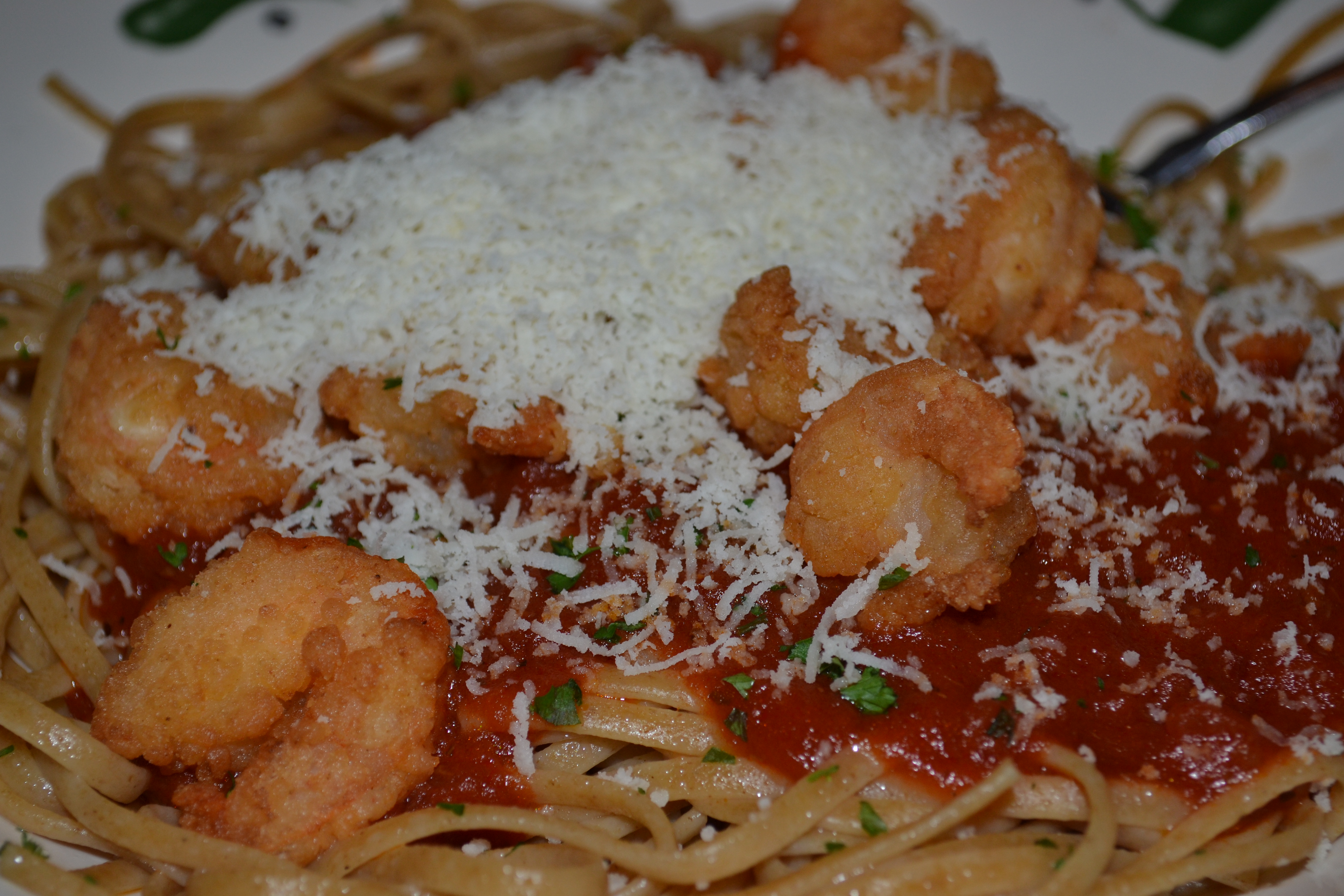 Day 5 – The Healthy Edition – Whole Wheat Linguine with Marinara and ...